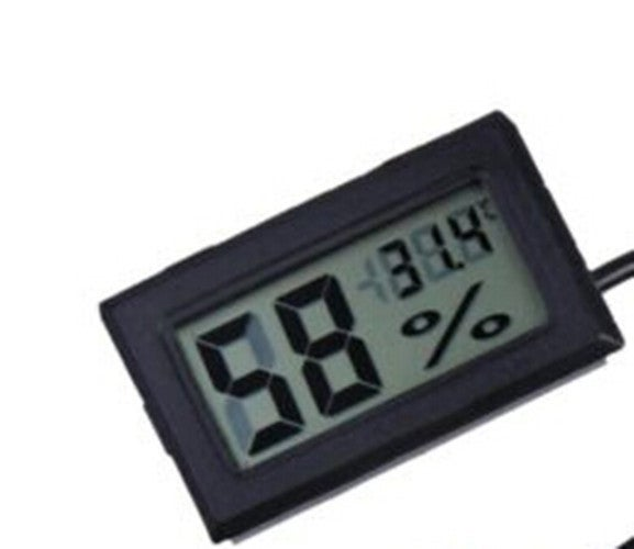 1Pcs 47.8 × 28.5 × 14.3mm Indoor Thermometer Temperature Gauge Meter Digital LCD Monitor