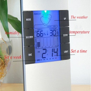 Hot 2017 Great New Gift lectronic Weather LED Digital Alarm Clock