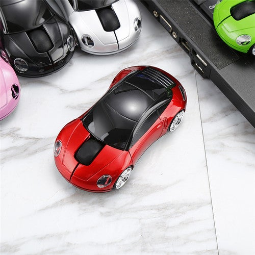Centechia Wireless mouse super car shaped USB 2.4Ghz optical mouse mice for pc laptop as Gift For Friend Children Students