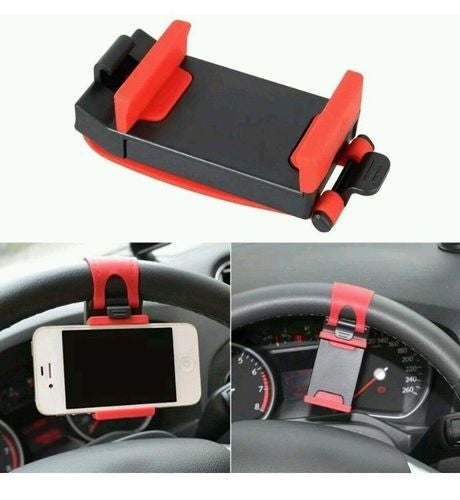 Universal Car Steering Wheel Mount Holder Cradle for Cell Phone PDA PSP