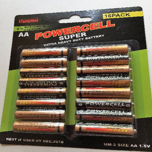 Power Cell AA Battery's