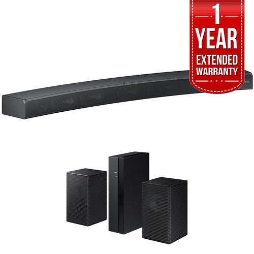 Samsung HW-MS6500/ZA Sound+ Curved Premium Soundbar w/ Surround Sound Bar Bundle