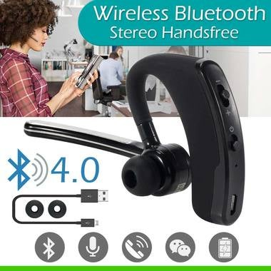 Mini Bluetooth Wireless Headphone Stereo Headset Earphone Sport Universal w/ Mic