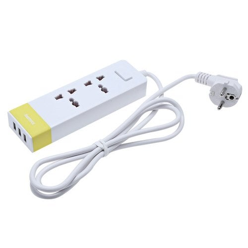 Remax RU - S3 2 Outlets 3 USB Output Power Socket