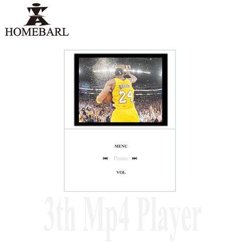 """HOMEBARL Slim 1.8"""" 4th LCD Video Music MP4 Player With Micro SD Card / TF Cards Slot But No Memory Study For Kids Children 7B8"""