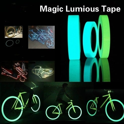 2017 New Sale Hot Selling 3M Luminous Tape Self-adhesive Glow In The Dark Safety Stage Home Decorations