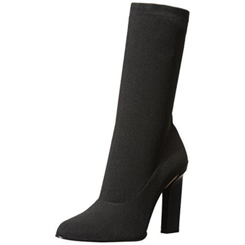 Calvin Klein Collection Womens Raven Textured Dress Ankle Boots