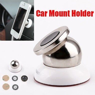 360º Universal Magnetic Magnet Car Dash Holder Stand Mount for Mobile Phone GPS