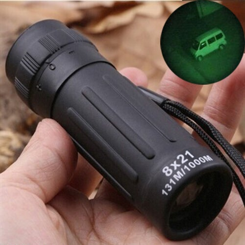 Compact Monocular Telescope Handy Scope For Sports Camping Hunting 8*21