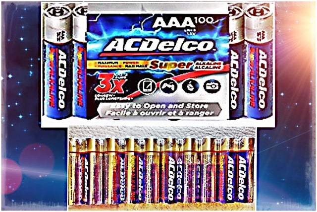 FROM USA! Get 10 ACDelco SUPER Alkaline Batteries! You Choose Size! AA / AAA or Both!