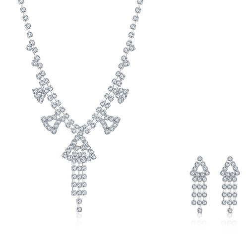 Wedding Series Warm Small Home 2 Sets Of Necklace + Earrings Jewelry Website CDS035 CDS035