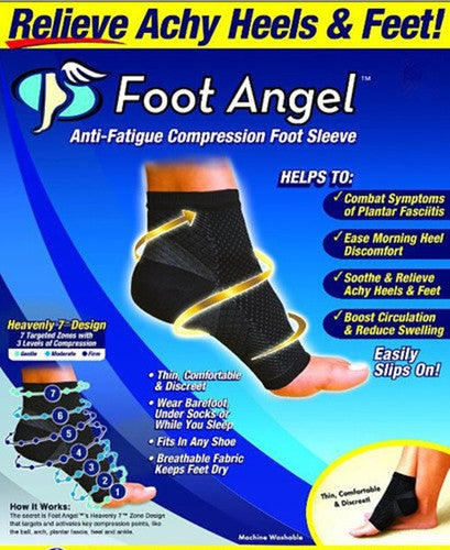 Elastic Bandage Compression Support Sport Brace Sleeve Ankle Wrap Foot Protection