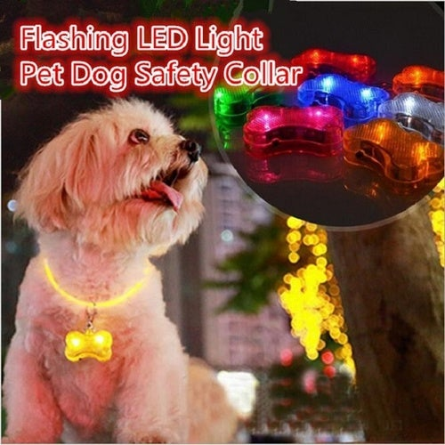 Flashing LED Light Pet Dog Safety Collar