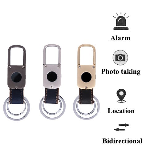 Smart Bluetooth V4.0 Keychain Tracker Anti-Lost GPS Positioning Alarm Locator For Android iOS Wallet Car Kid Pet