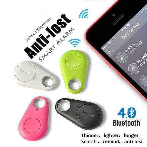Anti-Lost Theft Device Alarm Bluetooth Remote GPS Tracker Key Finder Phone Box