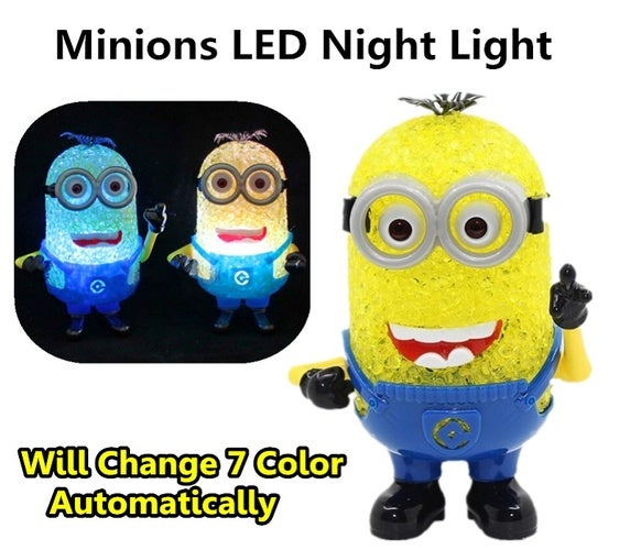 Minions 7 Color Change LED Night Light