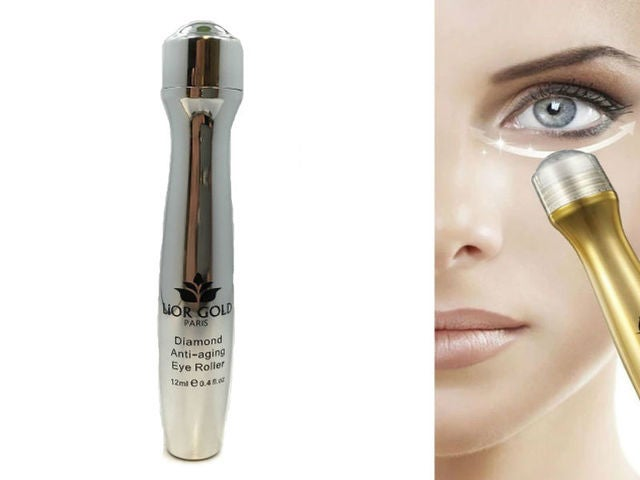 Lior Gold Paris Diamond Anti Aging Eye Roller