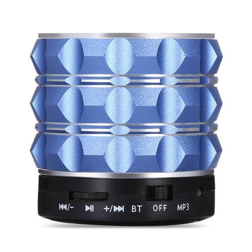 E-WONDERLAND Wireless Bluetooth Speaker With Microphone Support AUX TF Card Input