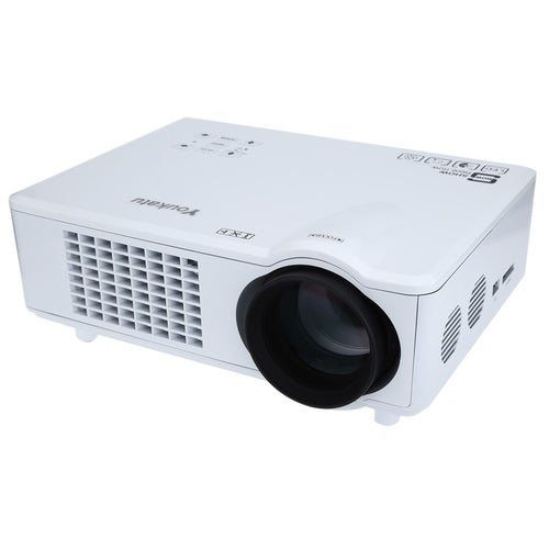 Youkatu T928 Home Theater LCD Projector 3000LM 1280 x 768 Pixels FHD 1080P Media Player