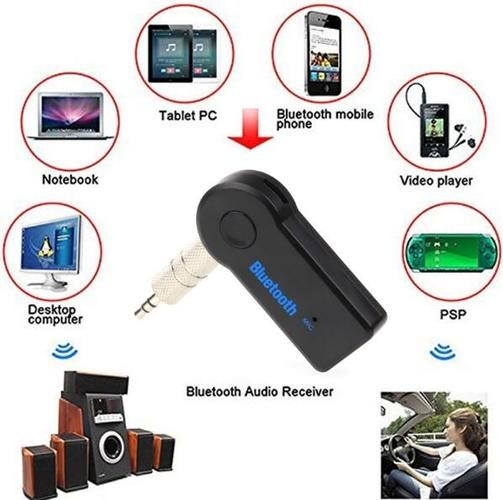 Mini Wireless Bluetooth Receiver 3.5mm Jack Bluetooth Audio Sound Music Adapter Car Aux Cable for Portable Speaker Headphone