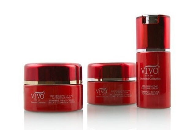 Vivo Per Lei Red Diamond Collection Lifting & Firming 3pc Set (cream, mask,serum)