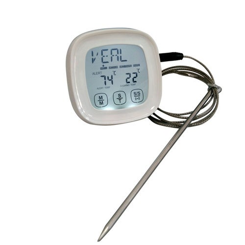 Hot Selling Steel Read Touch with Thermometer Cooking...