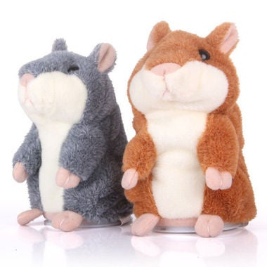 New Toy For Your Children - Funny Talking Hamster Mouse Pet Speak Sound Record