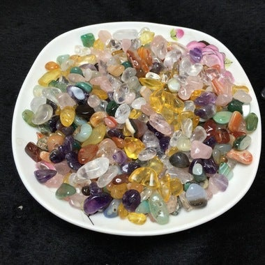 Beautiful Mix of Natural Healing Quartz Polished Gemstones - 50g of your choice