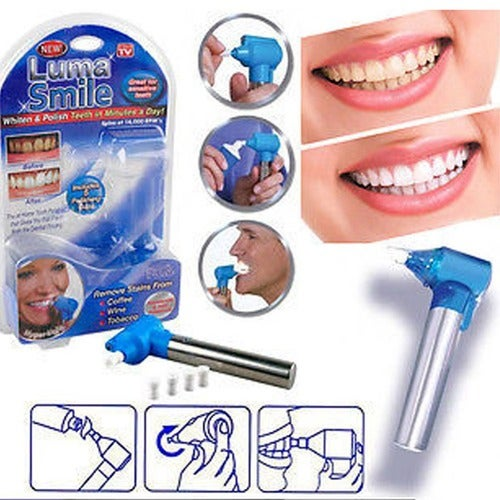 TV Luma Smile Rubber Head Tooth Polisher for Teeth Whitening Burnisher Polisher Whitener Stain Remover as seen tv products
