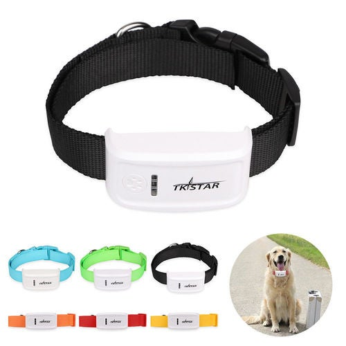 Mini GPS Tracker for Small PET Dog Cat Global Real-time Locator Remote Voice Monitor Free Online Tracking Platform For Car,Truck,Pet,Kids And Elder (TK909) Free Collar Gift