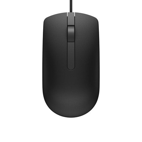 DELL MS116-BK USB Wired Optical Mouse - Black