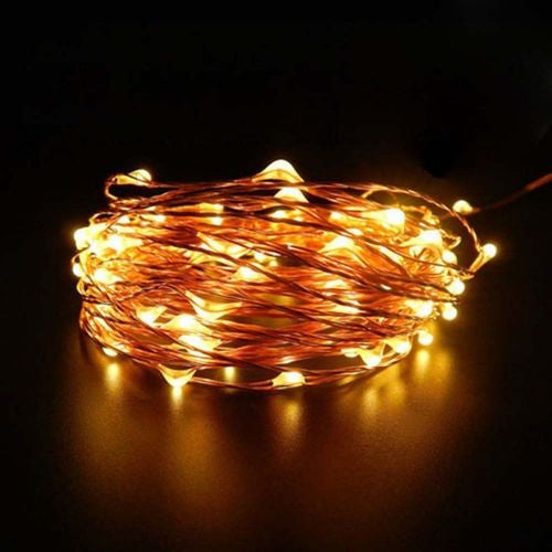 2m/20 led Holiday Wedding Party Decoration Festi LED Copper Wire String Fairy Lights 4.5V AA Battery Lamps