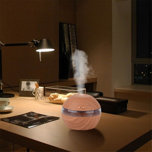 USB LED Ultrasonic Aroma Humidifier Maker Air Aromatherapy Essential Oil Diffuser Aromatherapy Purifier