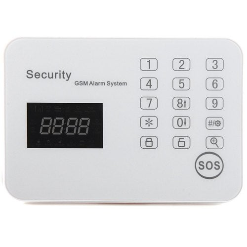 WL-JT-120CG Touch Screen Wireless GSM Security Alarm System For Home Warehouse Company