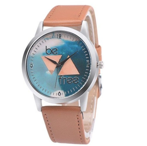 Be Free Brown Watch
