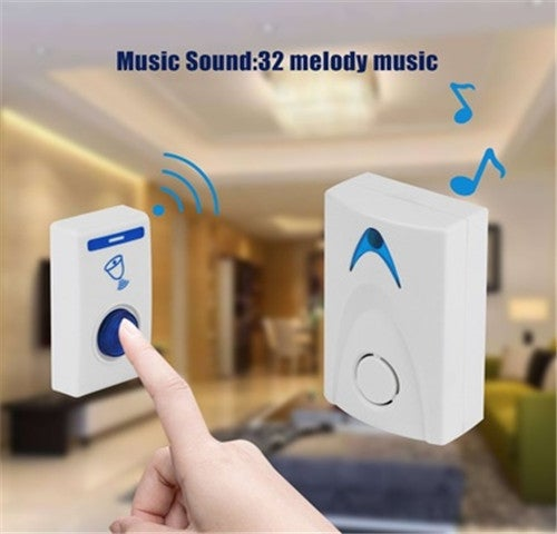 Home door Improvement Hotel bedroom Doorbell Control bell Security Chimes wireless Remote 32 Music Doorbells