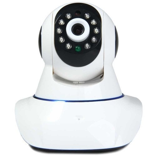 E6813 1.0MP H.264 Pan-Tilt Indoor Wireless IP Camera With Alarm Function - 100 - 240V
