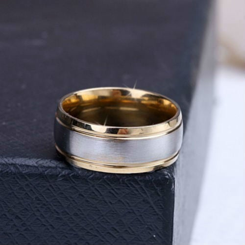 High Quality 316L Stainless Steel Two Tone Band