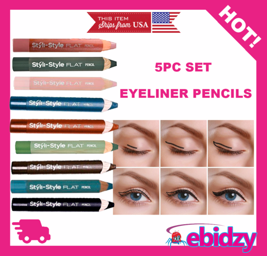 5pc Colored Eyeliner Set -Limited Time! Free Gift with Every Order!