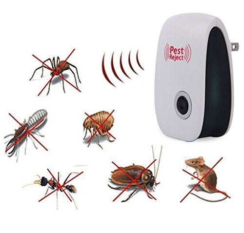 HALLOWEEN  SALE 76% OFF --- Pest Repeller Ultrasonic - Professional Electronic Pest Repellent Control Repels Mice,Rats,Fly,Moths,Mosquito,Ants,Spiders,Bats,Rodents - Natural Insect Control Roaches Equipment for Indoor