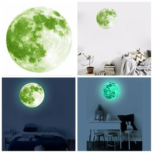 home decal kids room decoration 3d moon wall sticker | tophatter