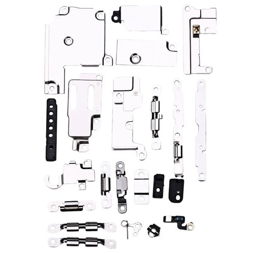 21Pcs / Set Metal Holder Bracket Shield Plate Home Logic Kit Replacements for iPhone 6s Plus