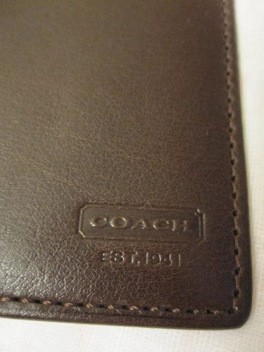 100% authentic cacda 7885a COACH Men's Wallet/ Large Card Case #FS4663 | Tophatter