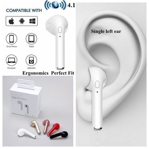 2017 Mini i7 Earbud In-Ear Wireless Earphone Sport Bluetooth Stereo Headset For iPhone Samsung
