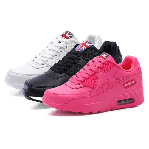 Womens New Shock Absorbing Fitness Running Trainers Shoes Gym Sports Shoe Size
