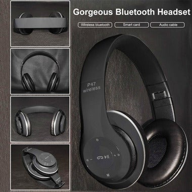 4.1 Bluetooth Wireless Stylish Headphones Compatible Iphone, Samsung, Sony, Tabl
