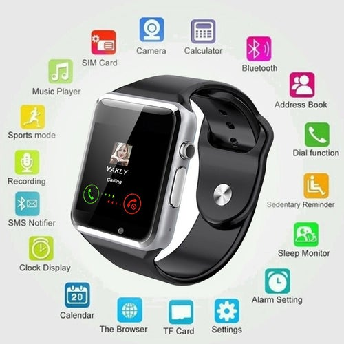 Original A1 Bluetooth Bluetooth Smartwatch Support SIM Card for IOS Android Phone