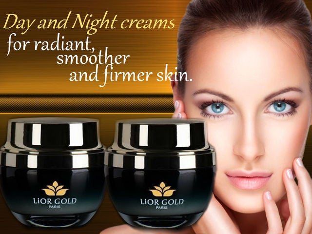 Lior Gold Paris Caviar Concentrate Set Of Day + Night Cream