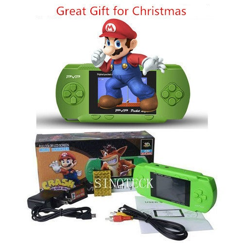 Great Gift for Christmas PVP3000 2.8 Inch Game Player-Great Gift for Family and Friends!