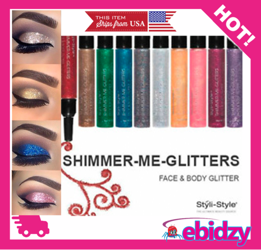 6pc Face and Body Glitter Set! Limited Available - Buy Now! Free Gift with Every Order!
